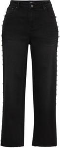 Czarne jeansy Only z jeansu w street stylu