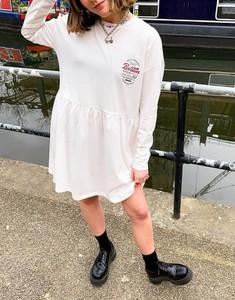 Sukienka Noisy May w stylu casual mini z dżerseju