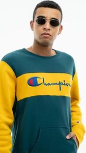 Zielona bluza Champion z bawełny