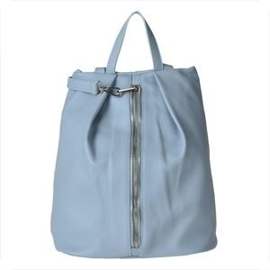 fda6a43424790 Borse in pelle plecak skórzany niebieski l