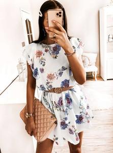 Sukienka Pakuten z krótkim rękawem mini