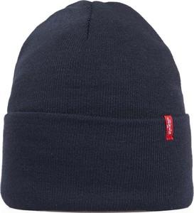 Granatowa czapka Levis Red Tab