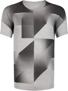 T-shirt Calvin Klein z krótkim rękawem z bawełny