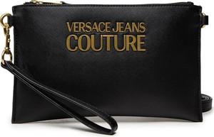 Czarna torebka Versace Jeans w młodzieżowym stylu