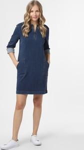 Sukienka comma, z długim rękawem mini z jeansu