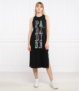 Czarna sukienka Armani Exchange midi