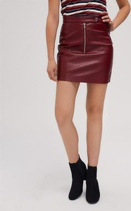Czerwona spódnica Diverse mini