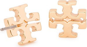 Kolczyki TORY BURCH - Logo Stud Earring 11165504 Tory Gold 720