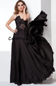 Sukienka Camill Fashion maxi dla puszystych z tkaniny