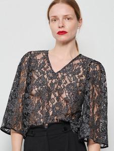 Bluzka Reserved w stylu glamour