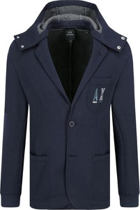 Niebieska marynarka Armani Jeans