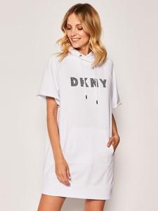 Sukienka DKNY z krótkim rękawem mini