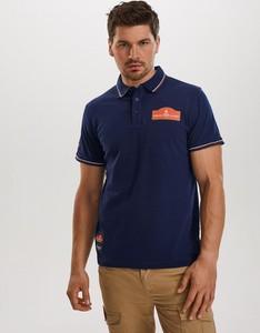 Granatowa koszulka polo DiverseExtreme