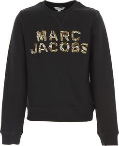Czarna bluza dziecięca Marc Jacobs