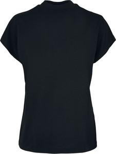 Bluzka Emp z okrągłym dekoltem z krótkim rękawem z bawełny