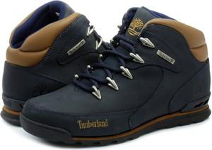 Buty zimowe Timberland sznurowane ze skóry