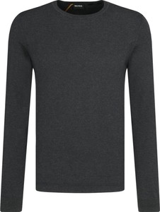 Czarny sweter BOSS Casual z kaszmiru