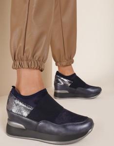 Granatowe buty sportowe Renee