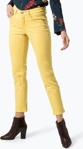 Jeansy Cambio z jeansu w street stylu