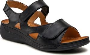 Sandały Łukbut z klamrami w stylu casual