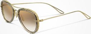 Żółte okulary damskie Elie Saab