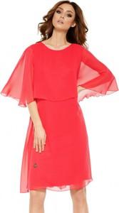 Sukienka Lemoniade z długim rękawem z okrągłym dekoltem mini