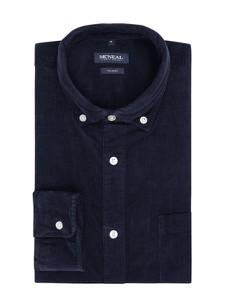 Granatowa koszula McNeal z bawełny