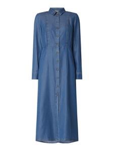 Sukienka Pennyblack midi z kołnierzykiem z długim rękawem