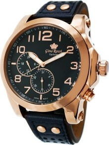 Zegarek Męski Gino Rossi DONERI EXCLUSIVE CHONOGRAF E11642A-6F3 12749
