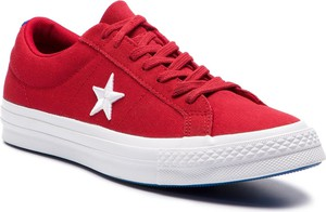 Tenisówki CONVERSE - One Star Ox 160595C Gym Red/White/Hyper Royal