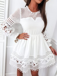 Sukienka Infinityfashion.pl mini z długim rękawem