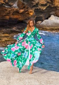 Sukienka Emo Sukienki w stylu casual z długim rękawem