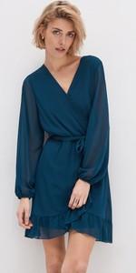 Sukienka House mini z długim rękawem