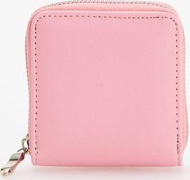 Reserved - Mały portfel z przegródką - Różowy