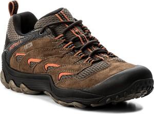 Szare buty trekkingowe merrell