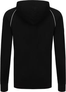 Czarna bluza Hugo Boss w stylu casual z dzianiny