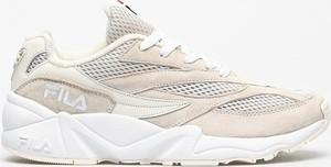Buty sportowe Fila z zamszu sznurowane