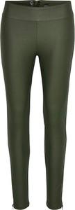 Zielone spodnie Cream w stylu casual