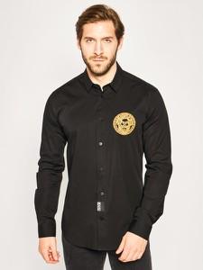Koszula Versace Jeans z nadrukiem z klasycznym kołnierzykiem