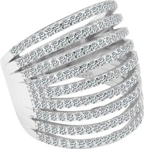 YES Scarlett - srebrny pierścionek z cyrkoniami