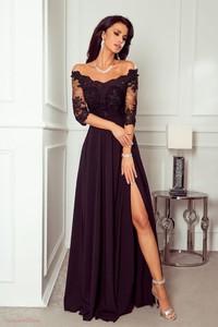 Granatowa sukienka Paris