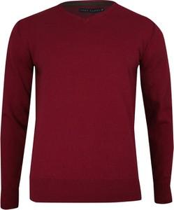 Sweter Just yuppi w stylu casual z bawełny
