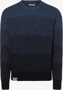 Niebieski sweter Napapijri w sportowym stylu