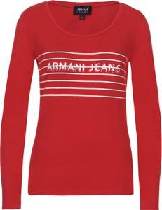 Czerwona bluzka Armani Jeans