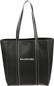 Czarna torebka Balenciaga matowa duża