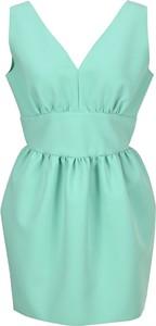 Zielona sukienka MSGM