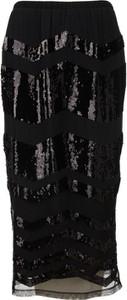 Czarna spódnica Twinset w stylu glamour