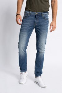 Białe jeansy lee