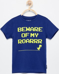 Fioletowa koszulka dziecięca Reserved