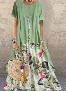 Sukienka Cikelly z krótkim rękawem